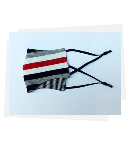 Reversible Mask | Elegant Stripe