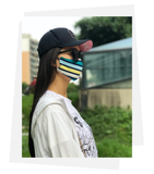 Reversible Mask | Friendly Stripe