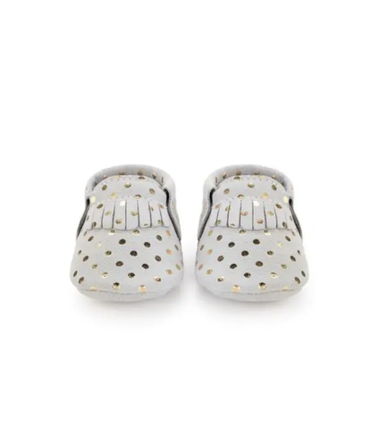 Moccasin | Confetti Light Grey