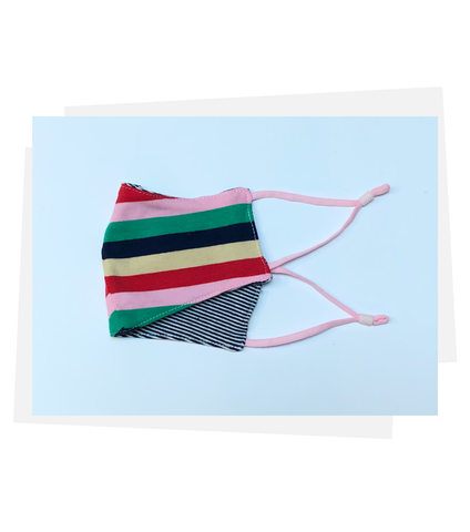 Reversible Mask | Charming Stripe