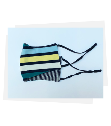 Reversible Mask | Brave Stripe