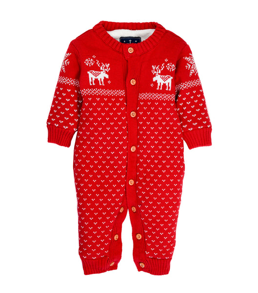 Yule | Fleece Sweater Onesie