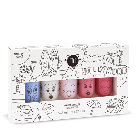 NM Hollywood - Set of 5 Nail Polishes