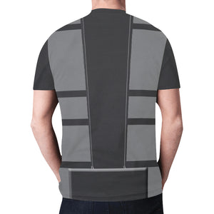 Men's Gray Ninja Shirt