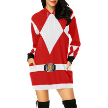 Load image into Gallery viewer, Dress Red Hoodie