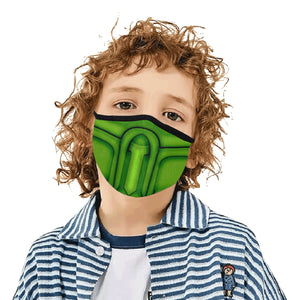 Green Ninja Legacy Dust Mask
