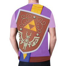 Load image into Gallery viewer, Men's Link FS Purple Shirts