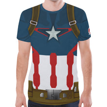 Load image into Gallery viewer, Men's Cap AOU Shirt