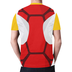 Red Flying Turtle Shirt