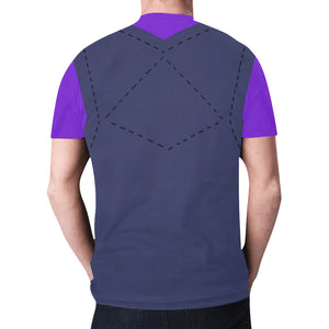 Men's Purple Jumpman Shirts