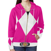 Load image into Gallery viewer, Women's Pink Hoodie