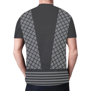 Men's Gray Ninja Shirt 2