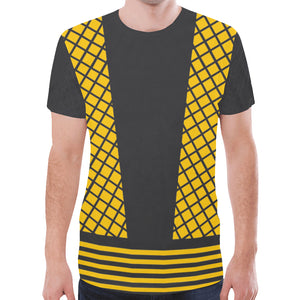Men's Yellow Ninja Shirt 2