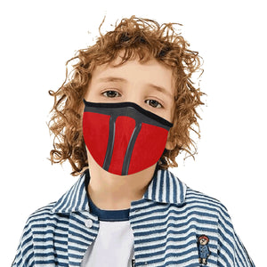 Red Ninja Modern Dust Mask