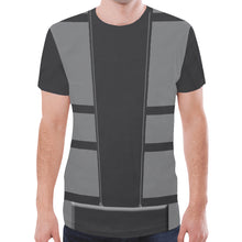 Load image into Gallery viewer, Men's Gray Ninja Shirt