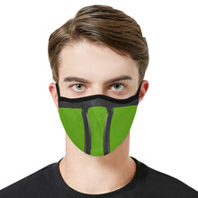 Load image into Gallery viewer, Green Ninja Modern Dust Mask