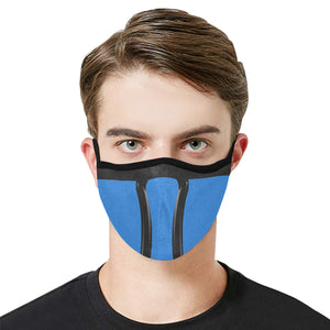 Blue Ninja Modern Dust Mask