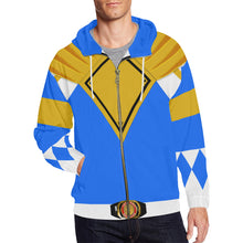 Load image into Gallery viewer, Men's Blue Hoodie