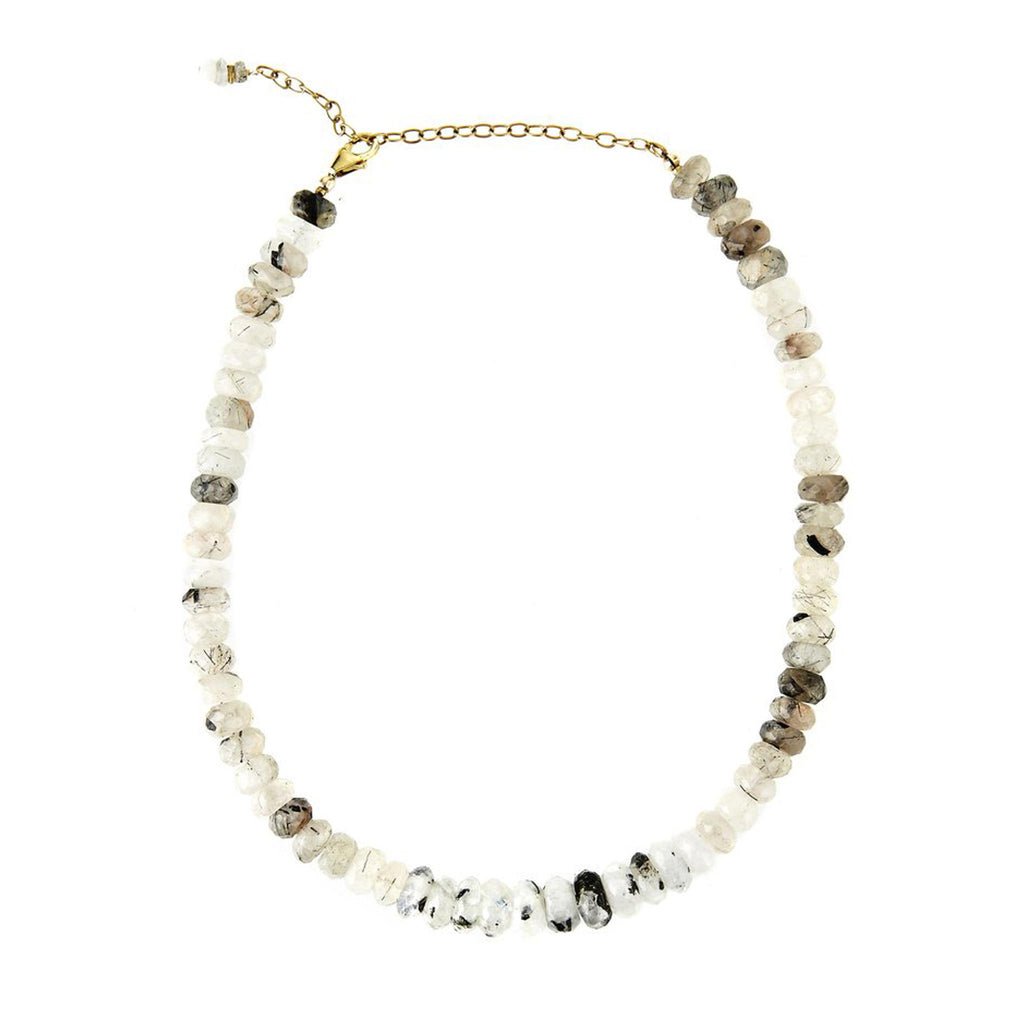 Tourmaline and Moonstone Choker