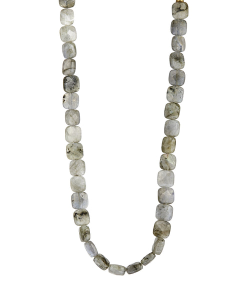 Labradorite choker necklace