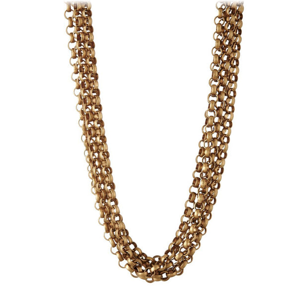 Gold Box Chain Collar