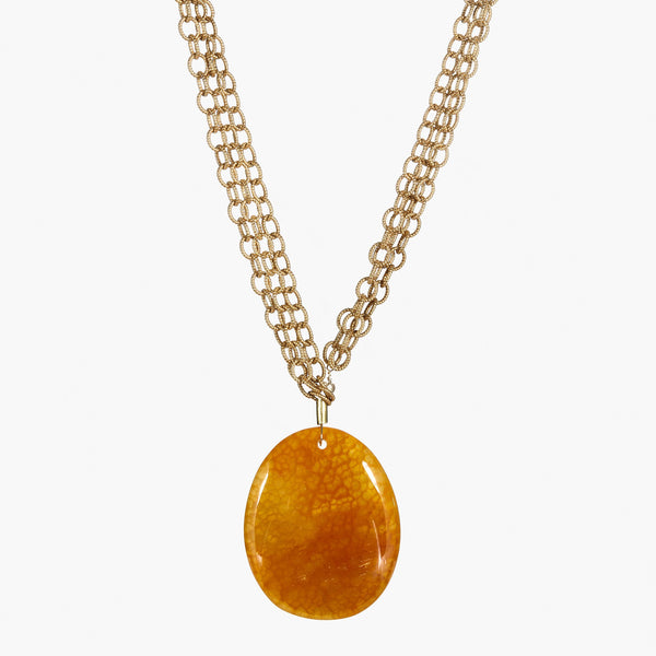 Citrine Jade on Links