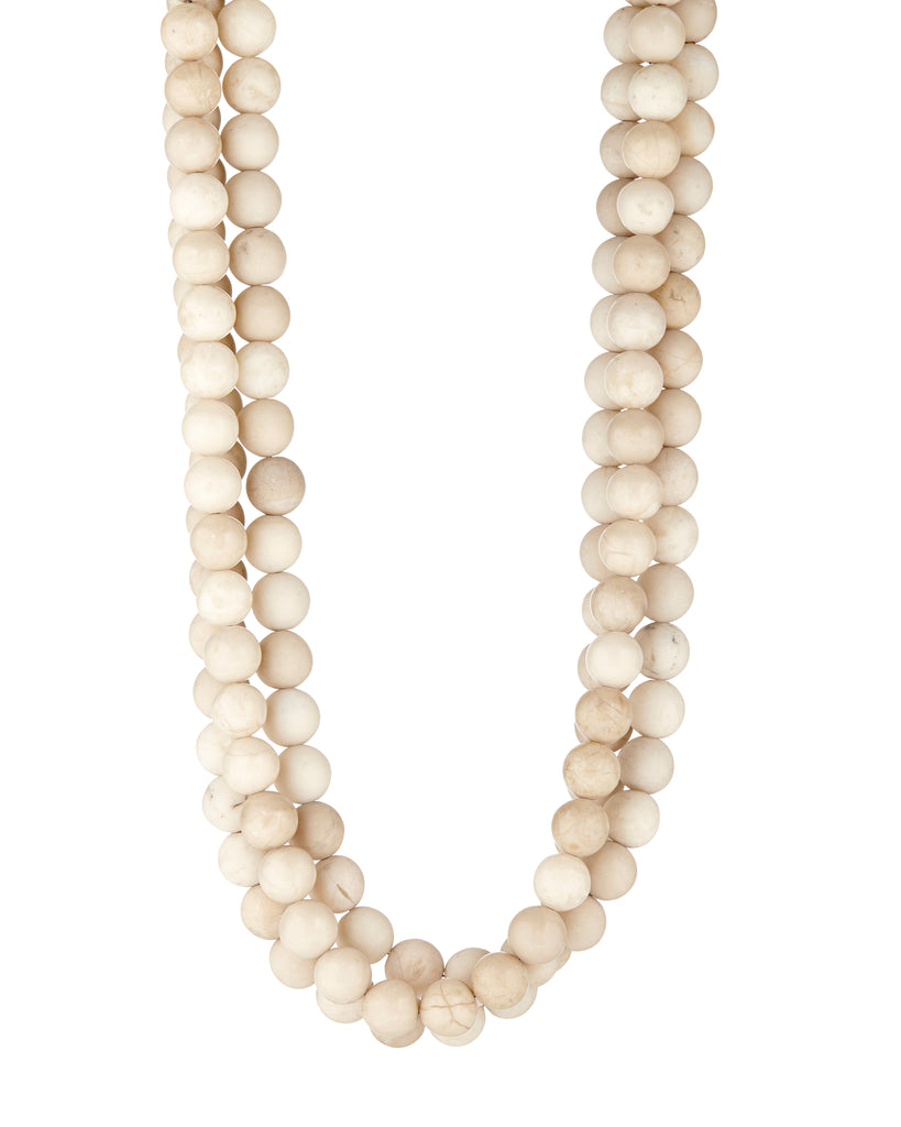 Riverstone Textures Necklace