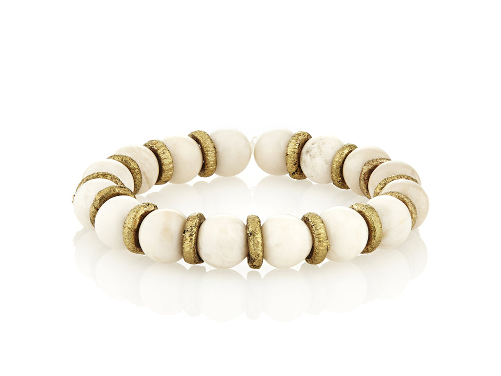 Avindy cream stretch bracelet