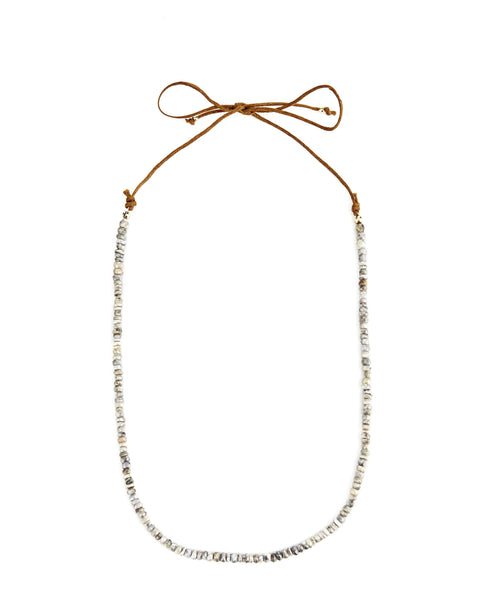 Short cord choker necklace