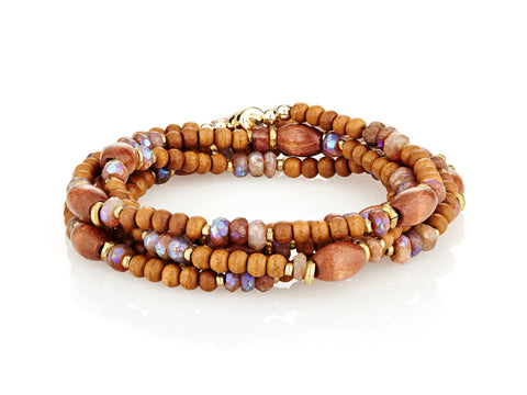 Wood Wrap with Sunstone