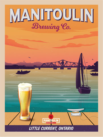 Manitoulin Brewing Company poster Small