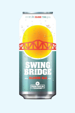 Swing Bridge Blonde Ale