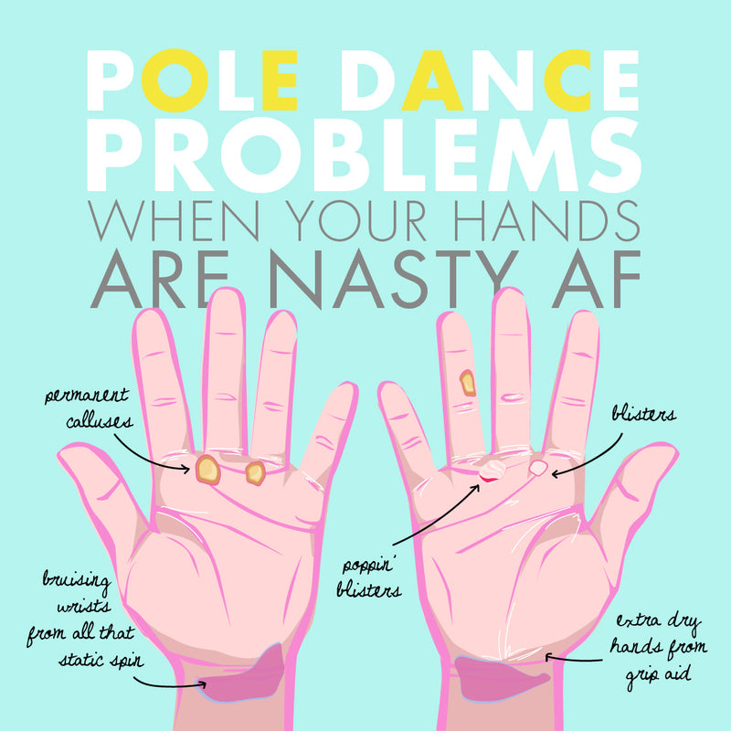 Pole Dance Hands