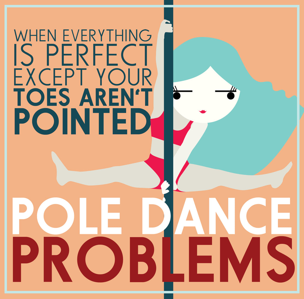 Pole Dance Problems: Pointed Toes