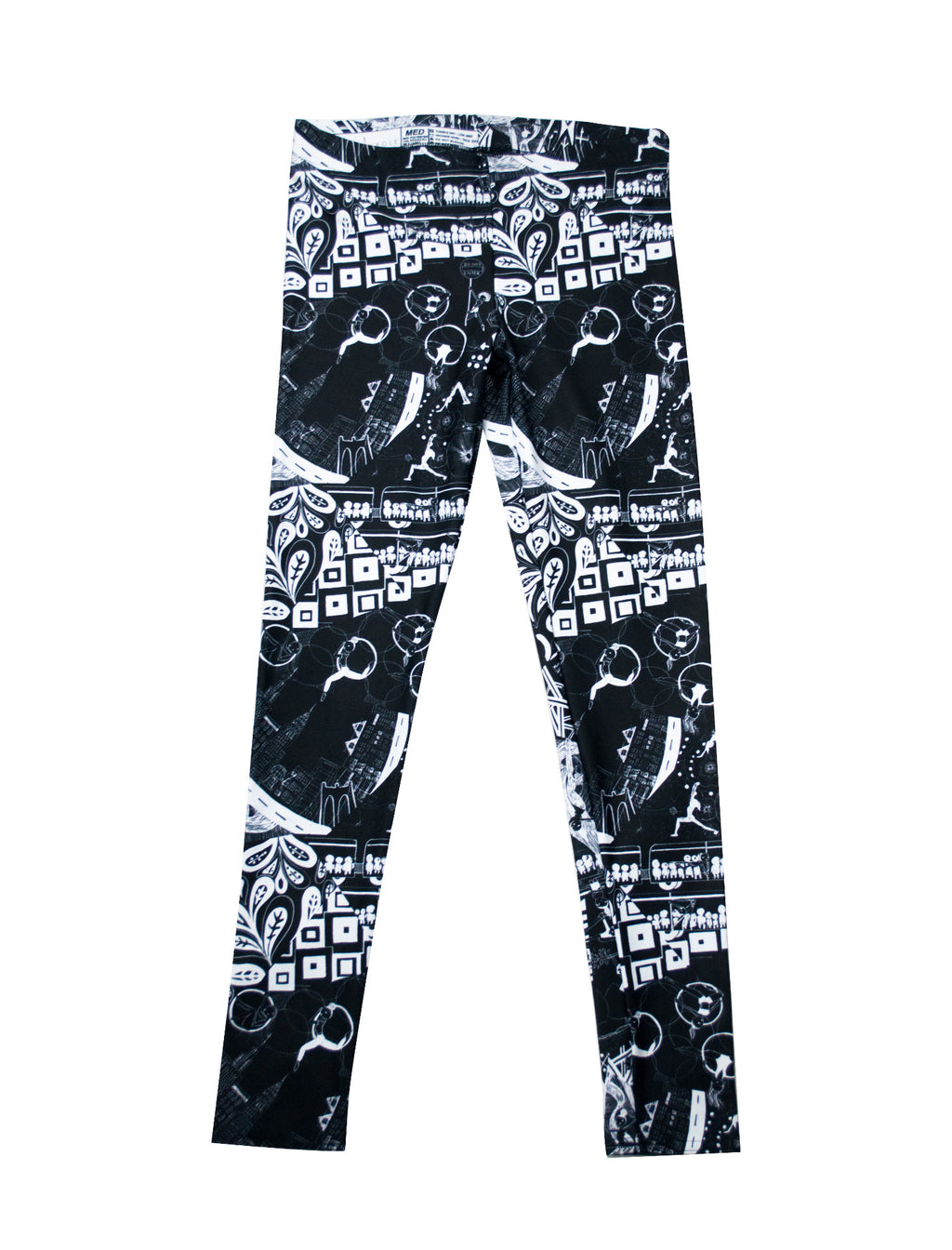 Urban Aerialist Leggings - Push + Pole - 1