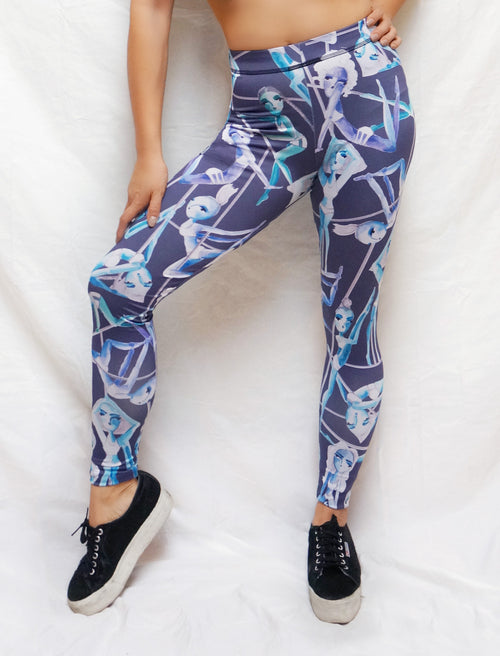 Me & My Pole Sisters Pole Dance Leggings - Push + Pole - 1