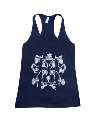 Off Duty Poler All-Over Print Tank Top
