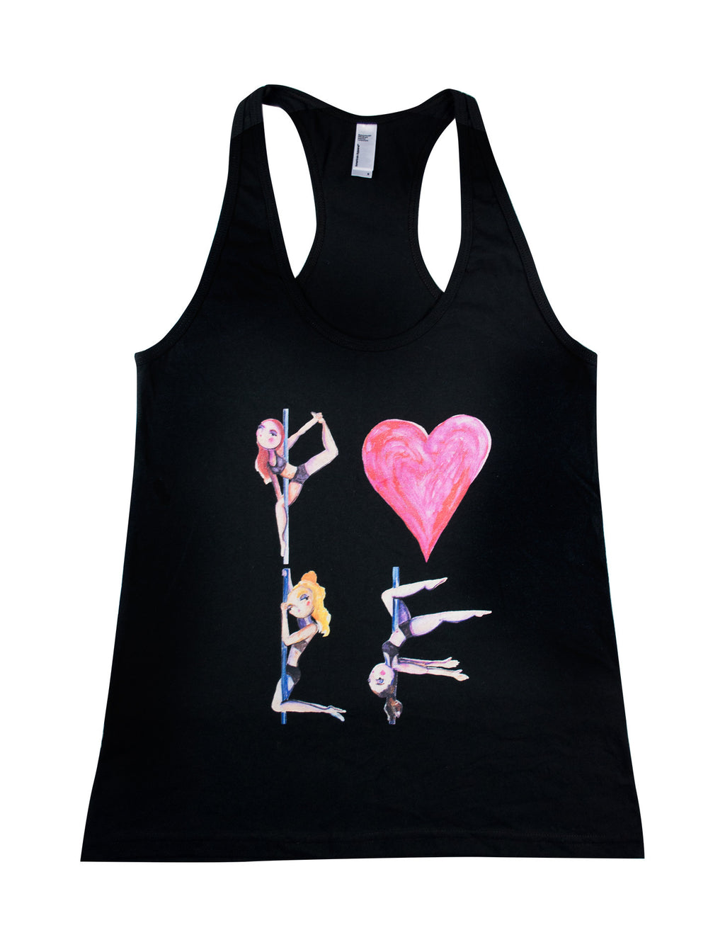 Pole Love Racerback Jersey Tank - Push + Pole - 1