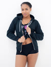 Beast Mode Zip Up Fleece Hoodie - Push + Pole - 2