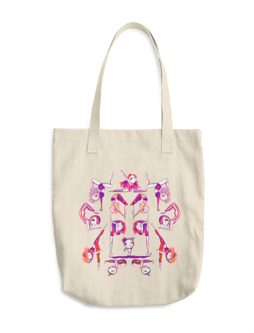I Bend, Not Break Canvas Tote