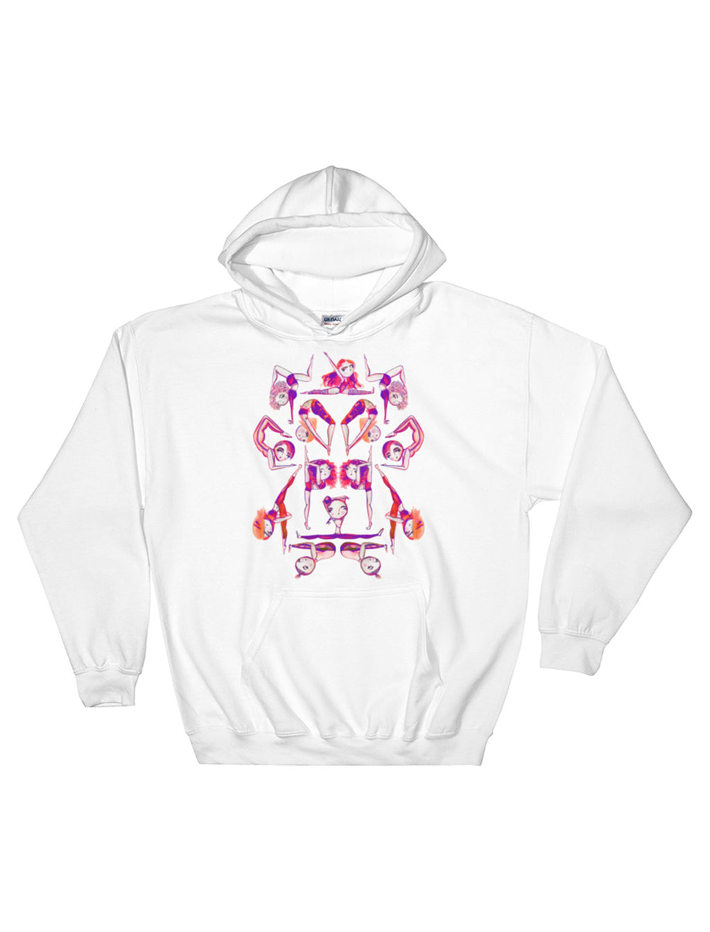 Let's Get Flexy Fleece Pullover Hoodie