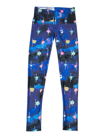 I Can Fly Pole Dancing Leggings