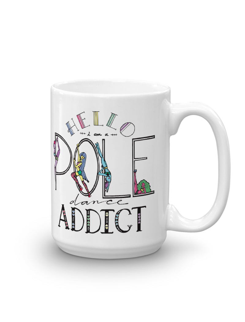 Pole Dancing Addict Mug