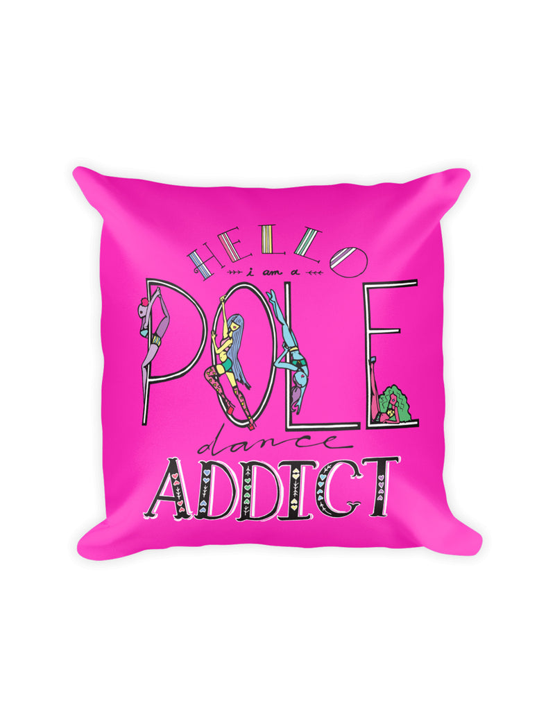 Pole Dancing Addict Pillow - Push + Pole - 3