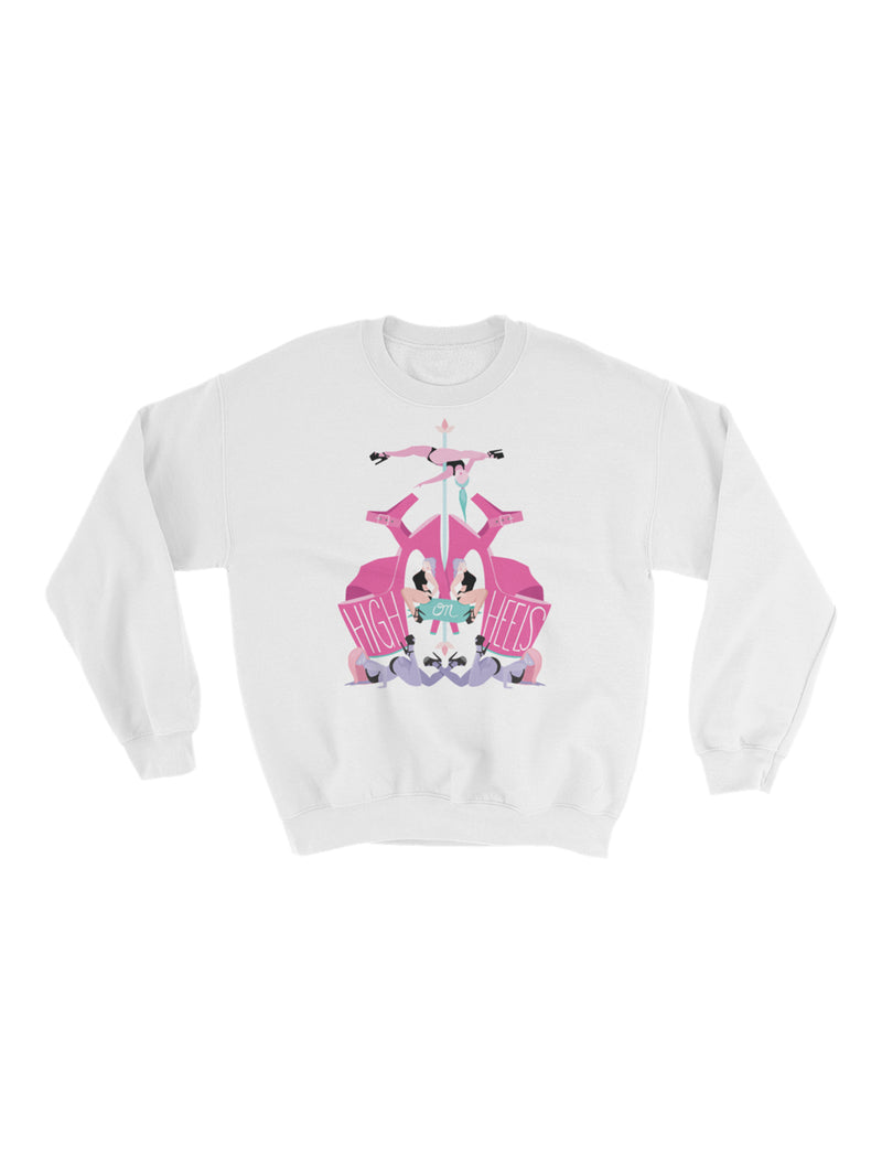 High on Heels Fleece Sweatshirt