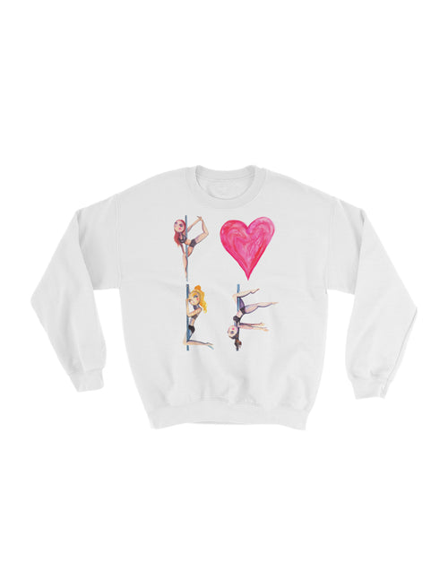 Pole Love Fleece Sweatshirt