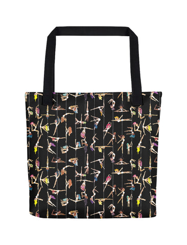 I Can Fly Pole Dancing Tote Bag