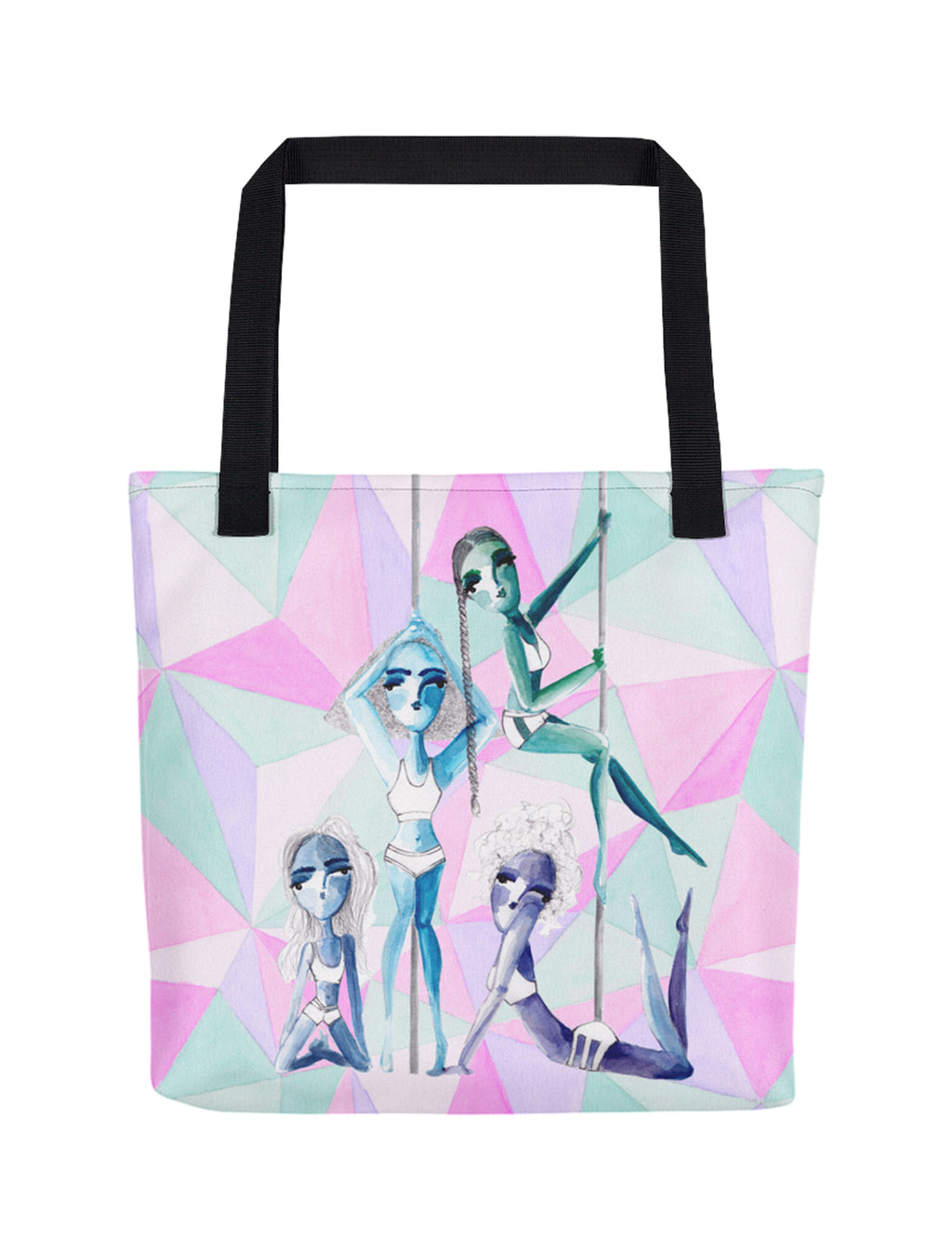 Pole Sisters Tote Bag