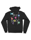 Beast Mode Zip Up Fleece Hoodie