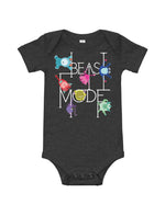 Beast Mode Baby Short Sleeve One Piece